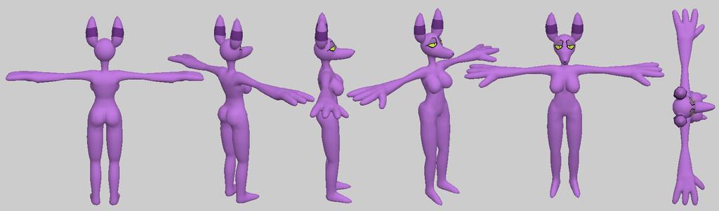 Most recent image: Myr 3D model