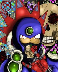 Punk style Blastman