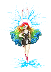 Electric Bunny girl