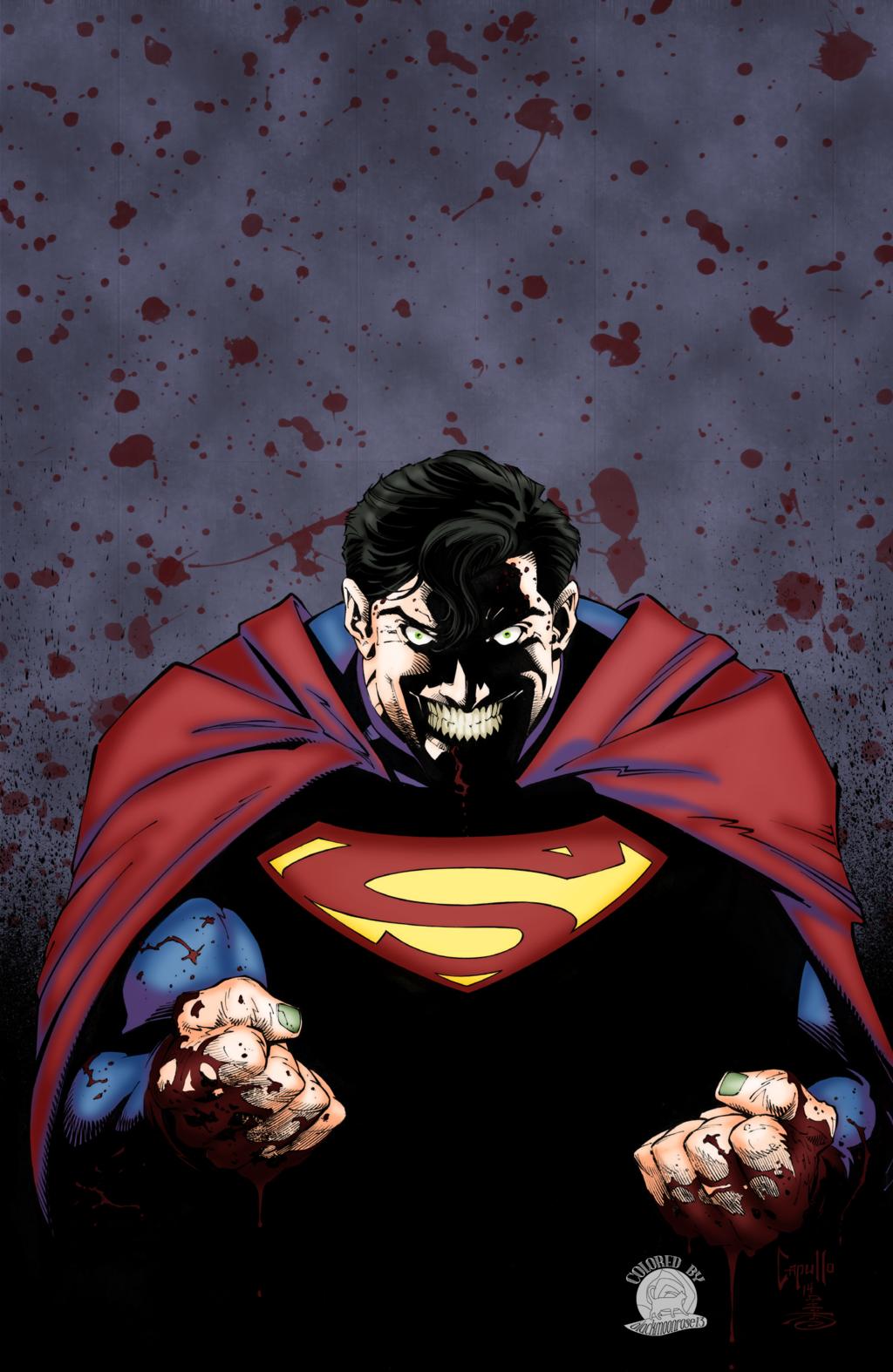 Joker Fied Superman