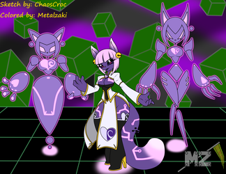 (Coloring) Xiang in Cyberspace by ChaosCroc