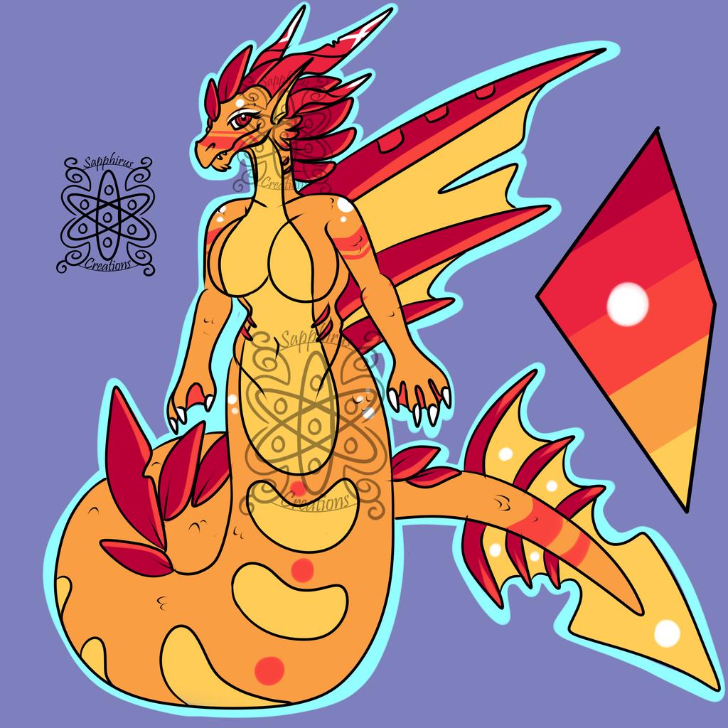 Female Sea Dragoness +Design+ (SOLD)