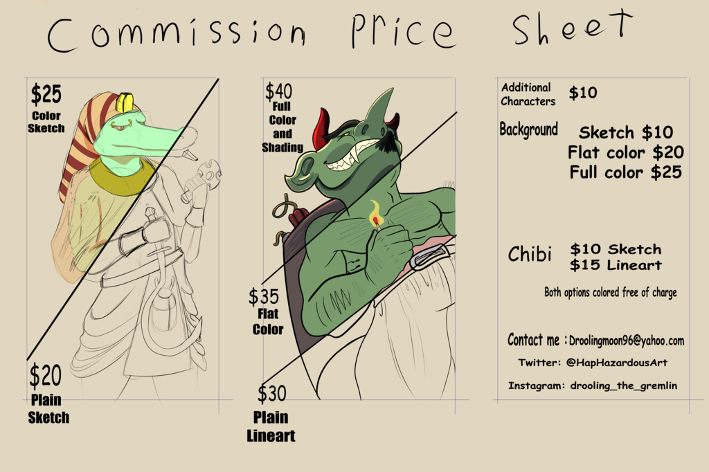 Most recent image: Commissions open!