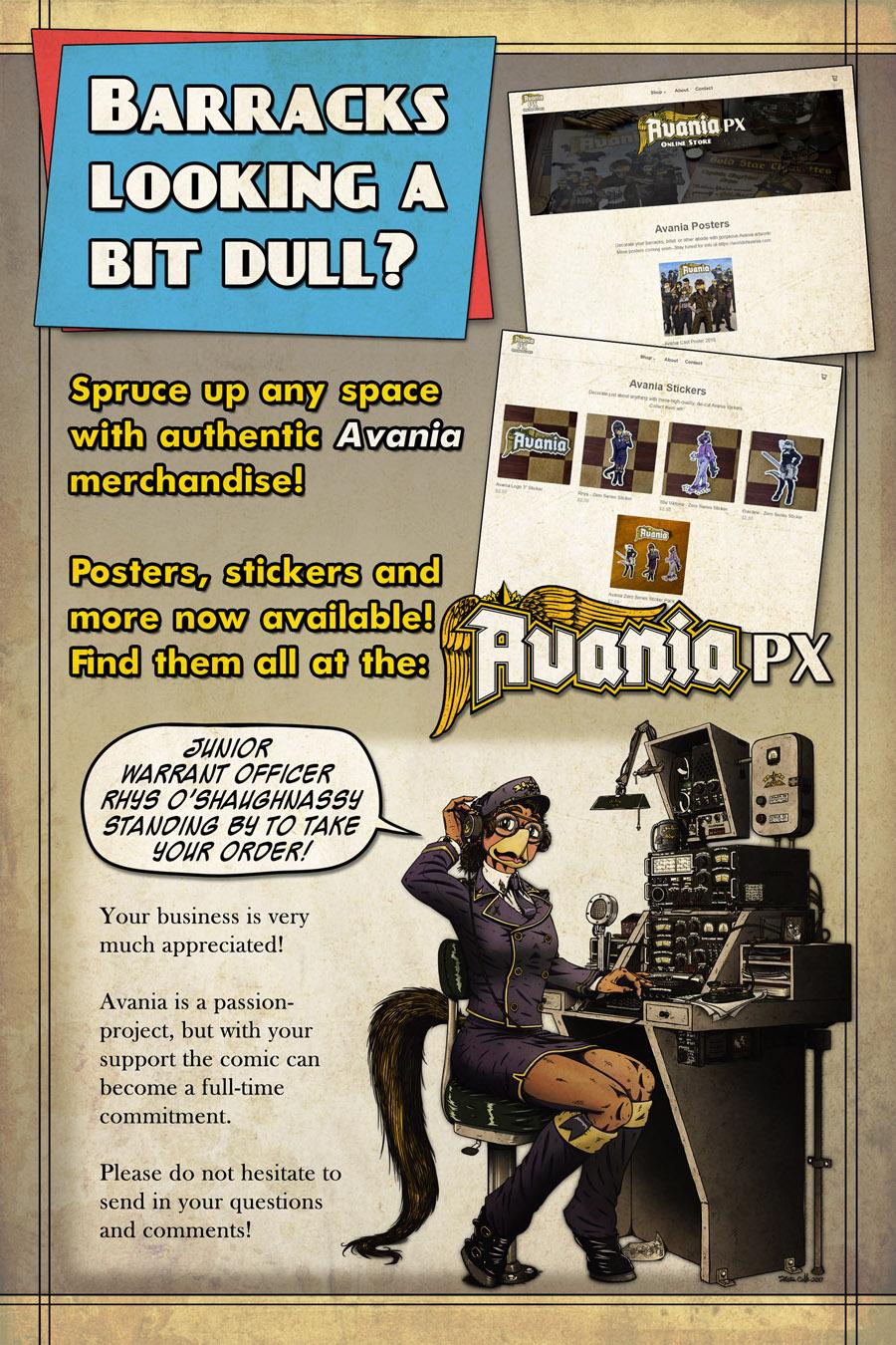 Avania PX Shameless Advertising