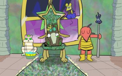 Glistening Glossy Throne Theming!