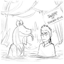 Swamp of Forever-Stuck [Gungan OC]