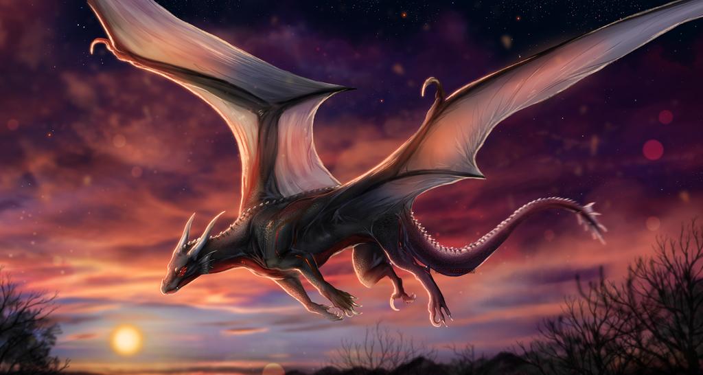 Twilight Flight by Isvoc