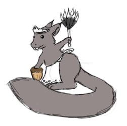 Squirrel-maid