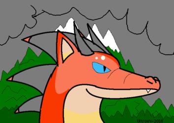 Cloudy adventurer