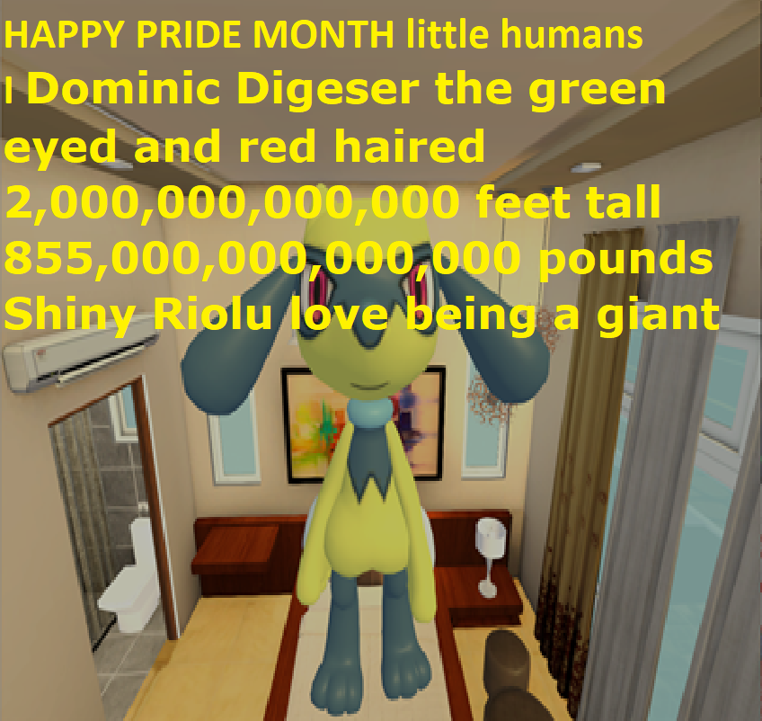 Most recent image: Dominic Digeser says HAPPY PRIDE MONTH