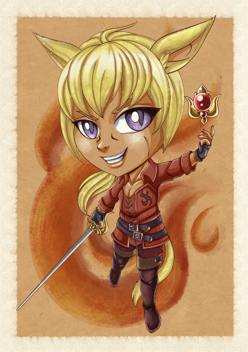 Kaliet Watercolor Chibi