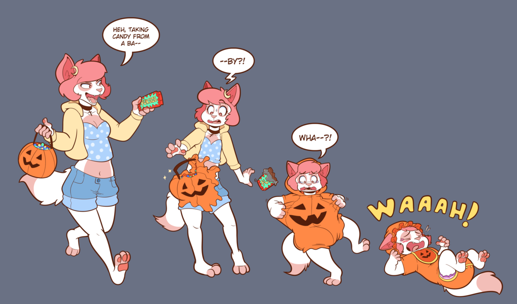 Trick Candy YCH FINISHED