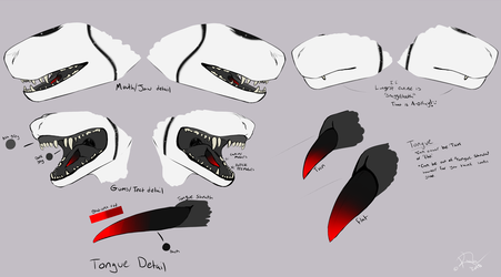 Mouth Diagram - for suit