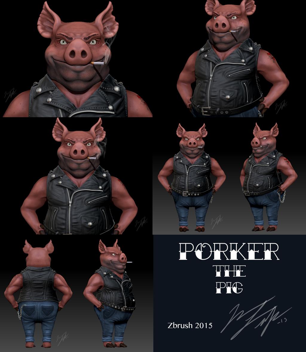 Most recent image: Porker the Pig