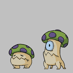 Mushroom creatures