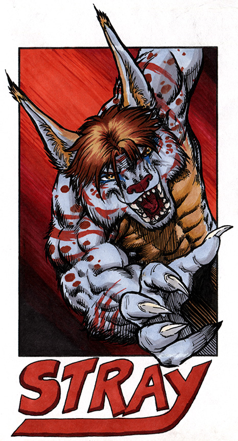 Most recent image: MFF17 - Stray Badge - Color