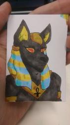Fan Art of Anubis by Missy Merlin