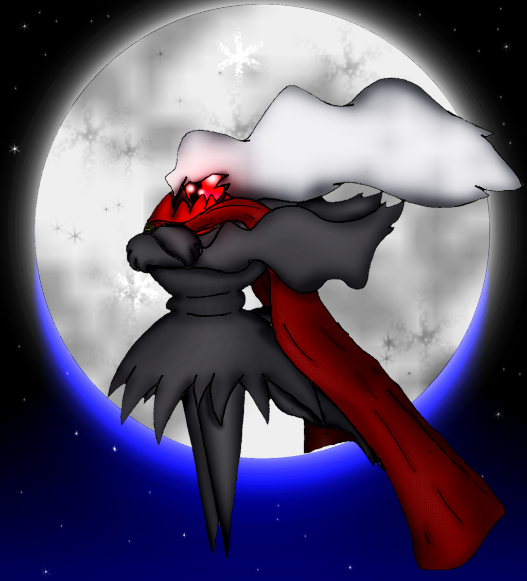 """Darkrai Used """"Anime Brooding"""" (Commission)"""