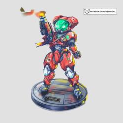 Full armored Nova - Helmet