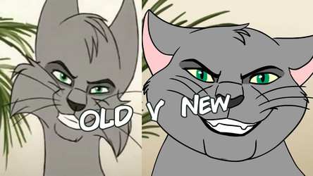 Evil Grin Old V New