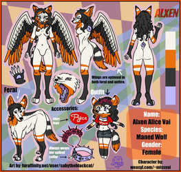 Ref Sheet Commission for ~missvai
