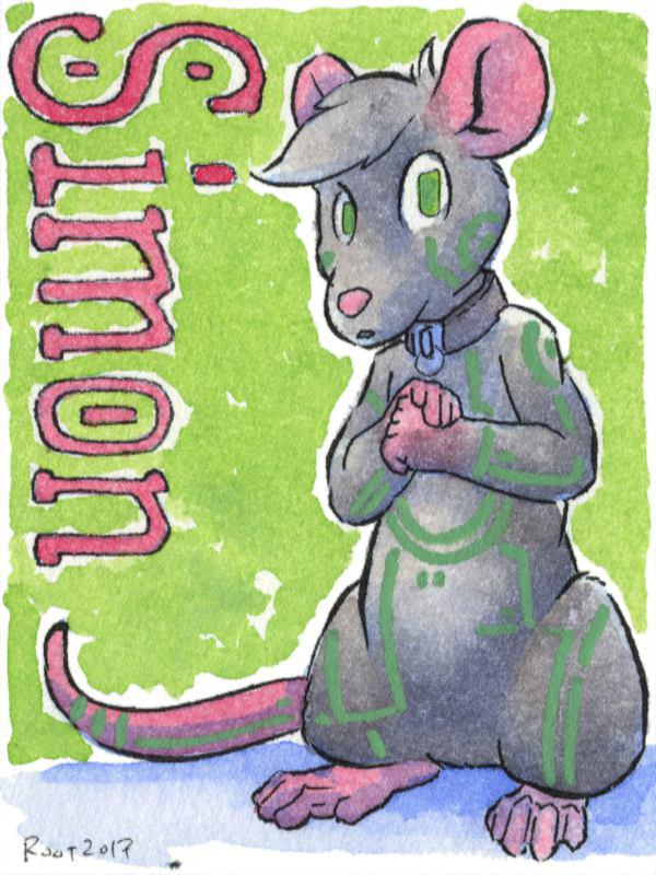 Simon Badge (by Root)