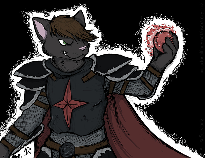 Sir Kain by Soryane - rough colors/final