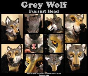 Wolf Fursuit Head