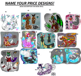 NAME YOUR PRICE ADOPTS! +Group 1+