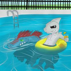 Predators in the pool