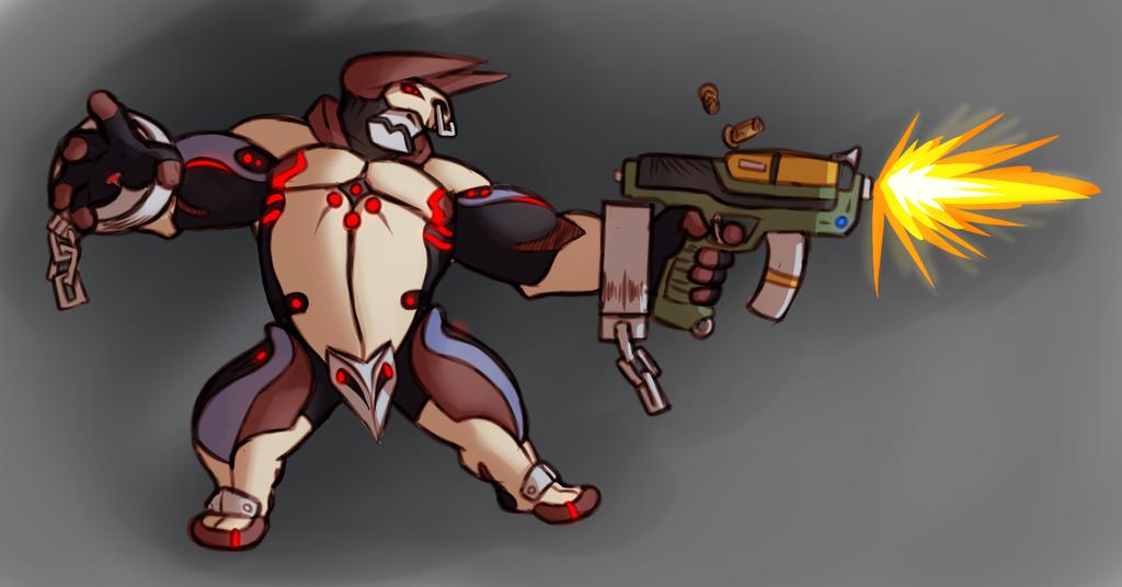 Minorus, custom Warframe.