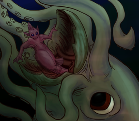 Giant Squid Just Wants to Play