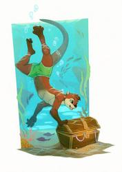 Treasure Dive [CM]