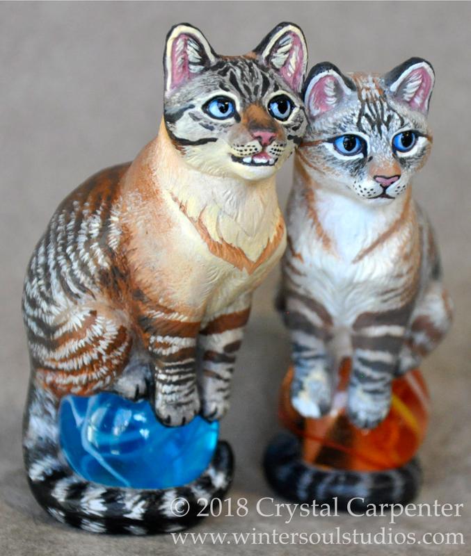 Altar Cats Memorial - CJ and Gracie