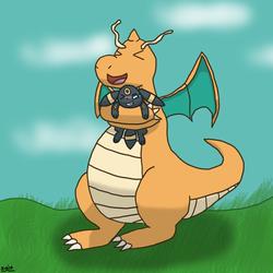 Dragonite Hug