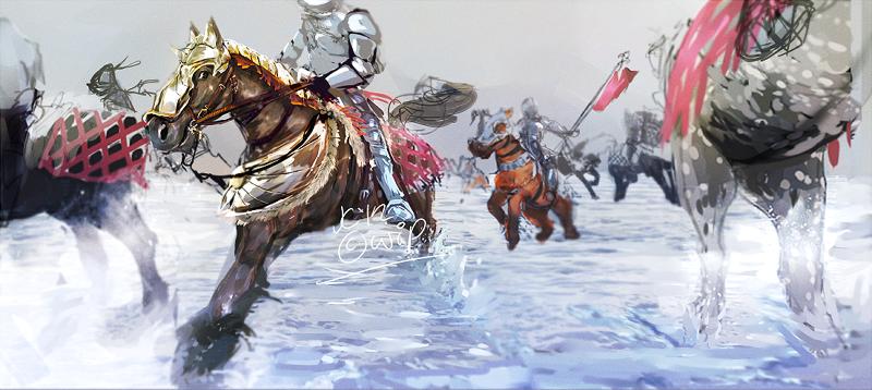 WiP: Cavalry