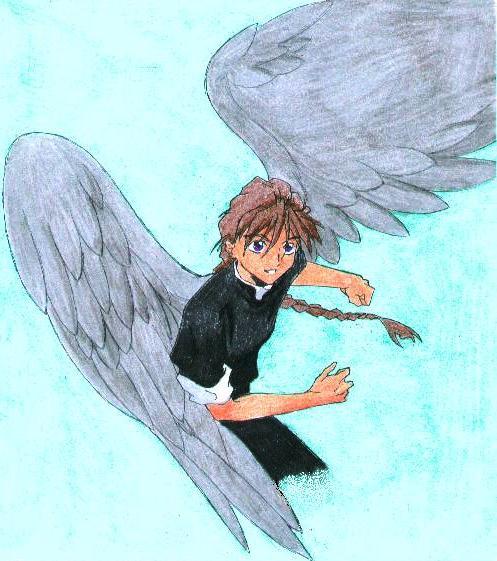 On Stormcloud-Grey Wings