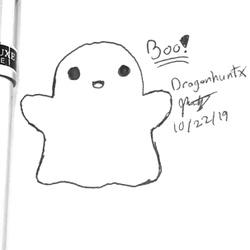 Inktober 2019 - Day 22 'Ghost'