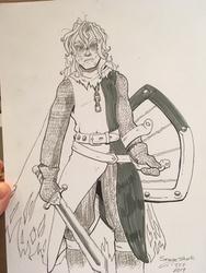 INK :: TFF 19 Britonian Knight