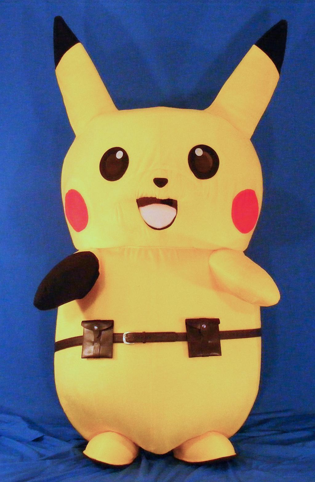 Pikachu Mascot Suit (Ace Spade Style)
