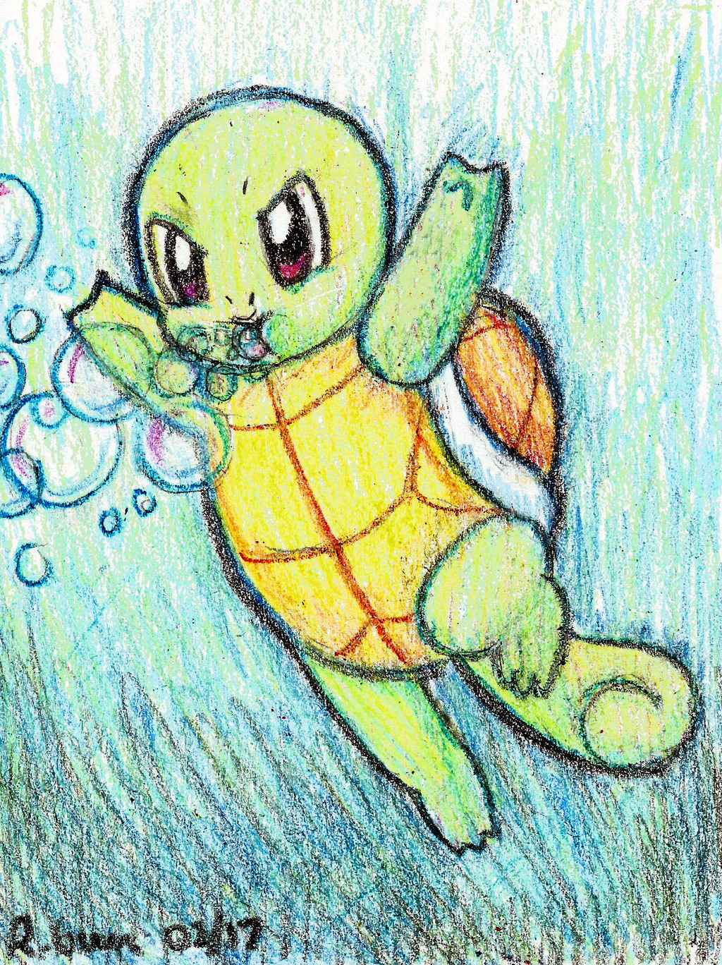 Most recent image: Squirtle Bubble