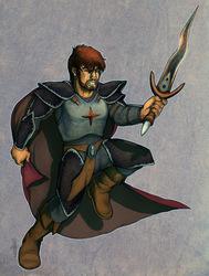 Sir Kain, origional human form - by Iiji
