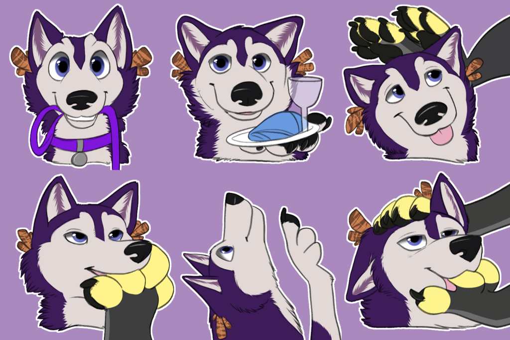 Hoosky Telegram Stickers