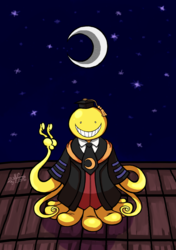 Korosensei and the Moon