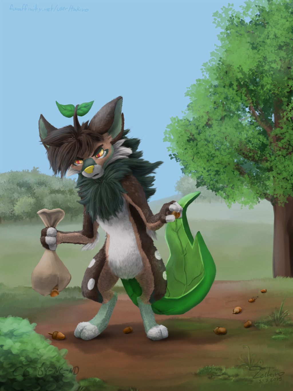 Most recent image: Crap. Damn bag (Artfight: Sprout.685520)