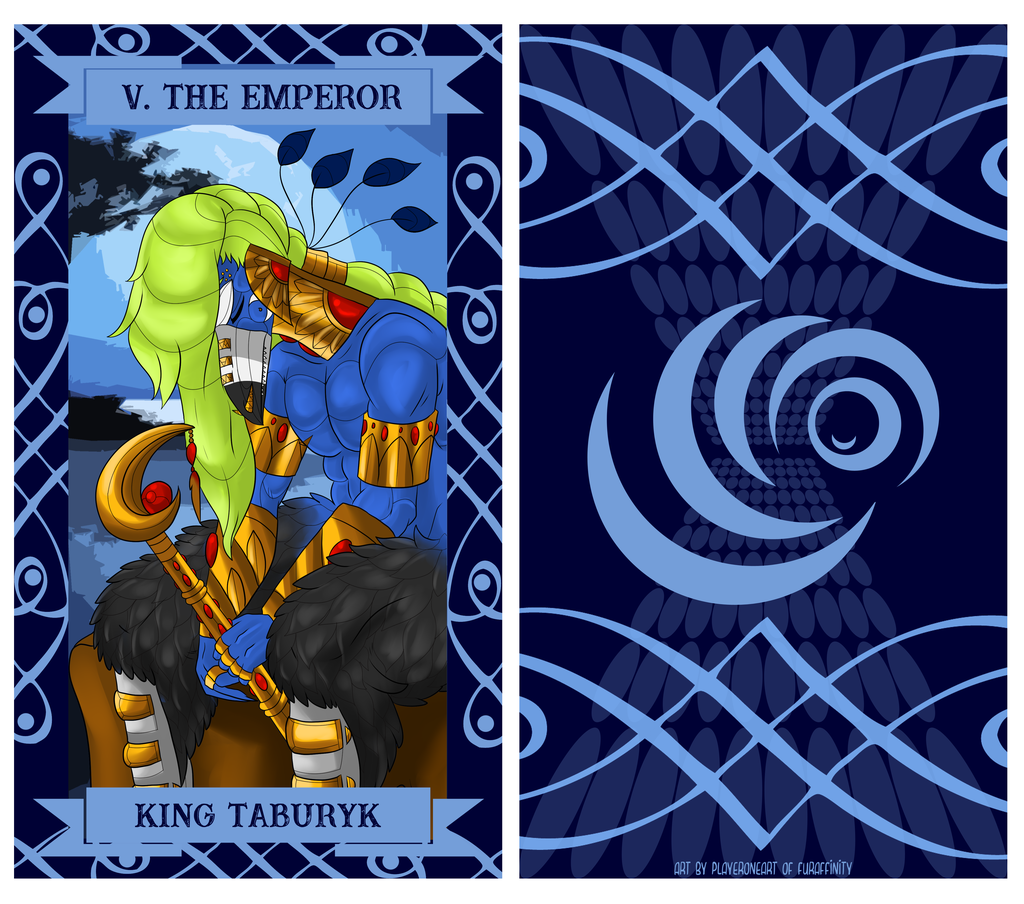 The Uragi Tarot - V The Emperor