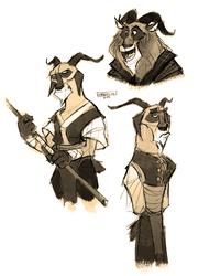 Kung fu goats