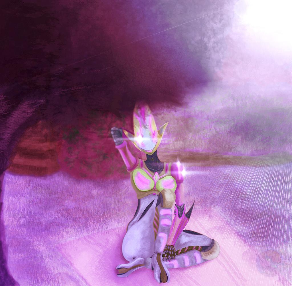 A singular lilac journey