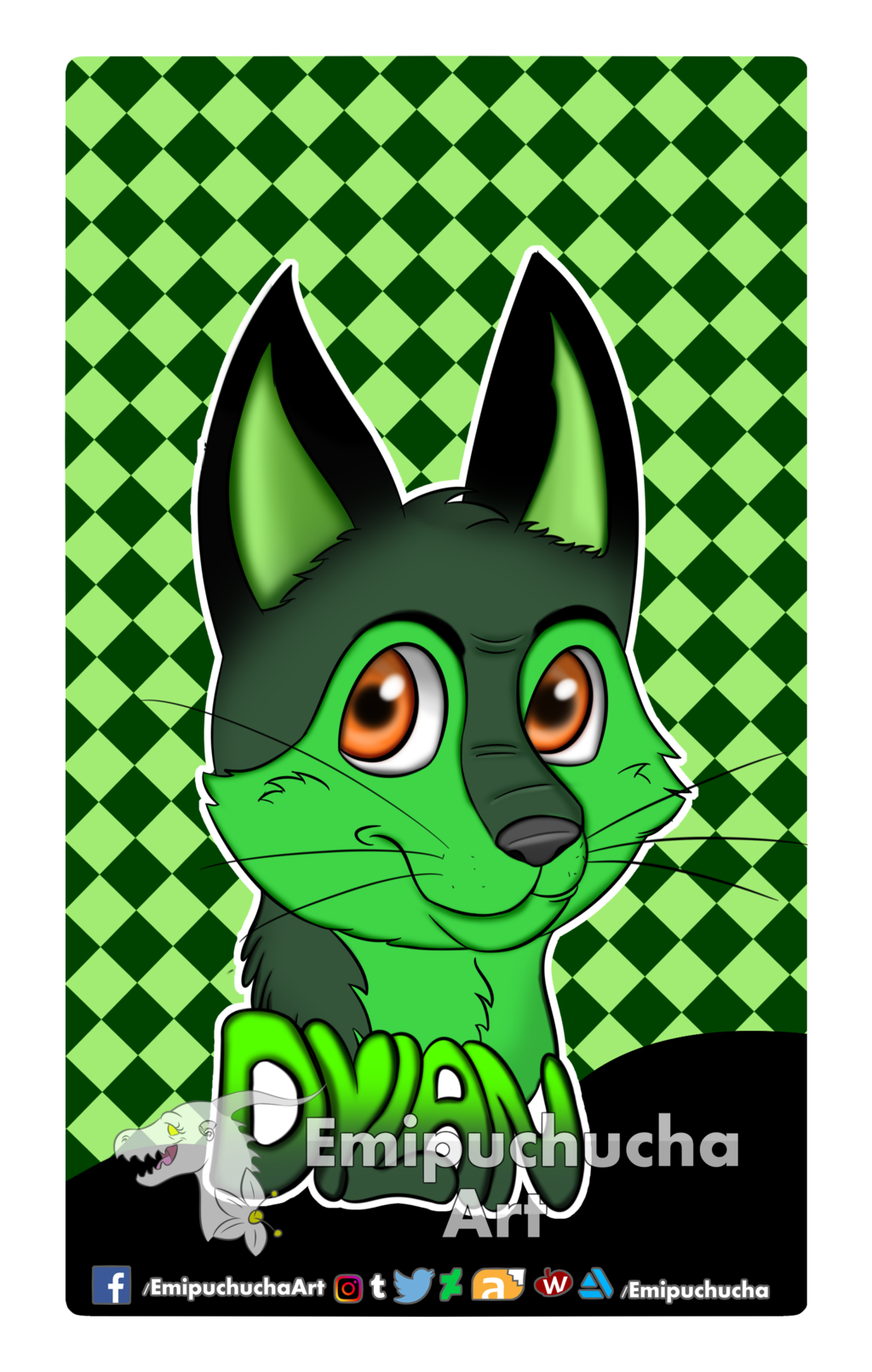 Most recent image: Commission: Dylan's Badge