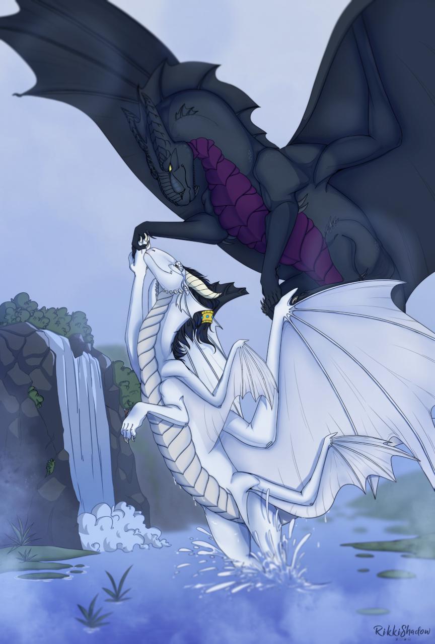 My beautiful dark angel (by RikkiShadow)